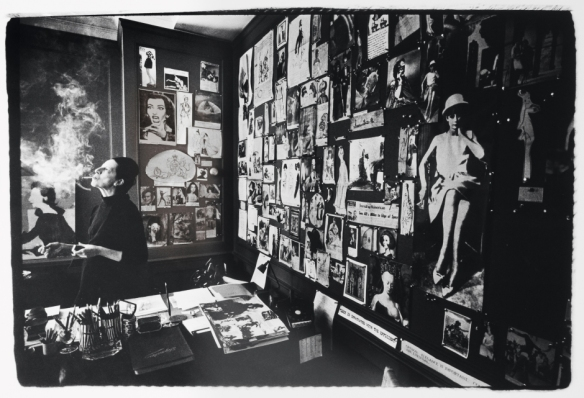 Diana Vreeland in the office of VoguePhoto courtesy of documentary -  Diana Vreeland: The Eye Has to Travel
