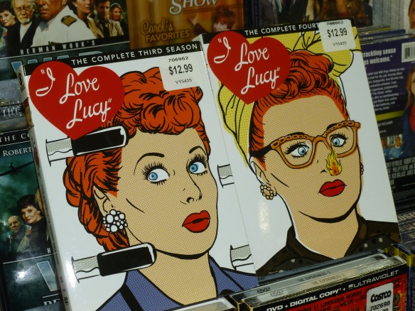 Seasons Three and Four of I Love Lucy (just because she's my all-time favorite!)