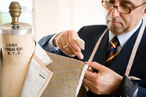 A good tailor is a fashion essentialPhoto credit: Google images
