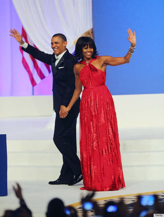 The Inaugural Ball - Michelle Obama in Jason Wu