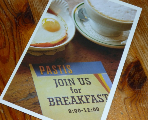 Breakfast at Pastis